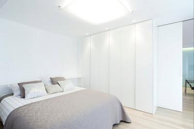 Ruang Tidur Warna Putih 5