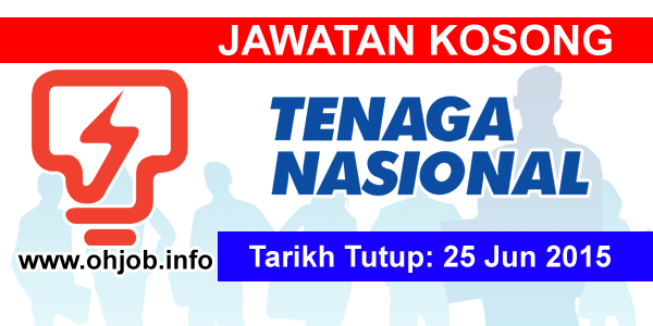 Jawatan Kerja Kosong Tenaga Nasional Berhad (TNB) logo www.ohjob.info jun 2015