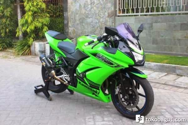 modif ninja 250 hijau terbaru