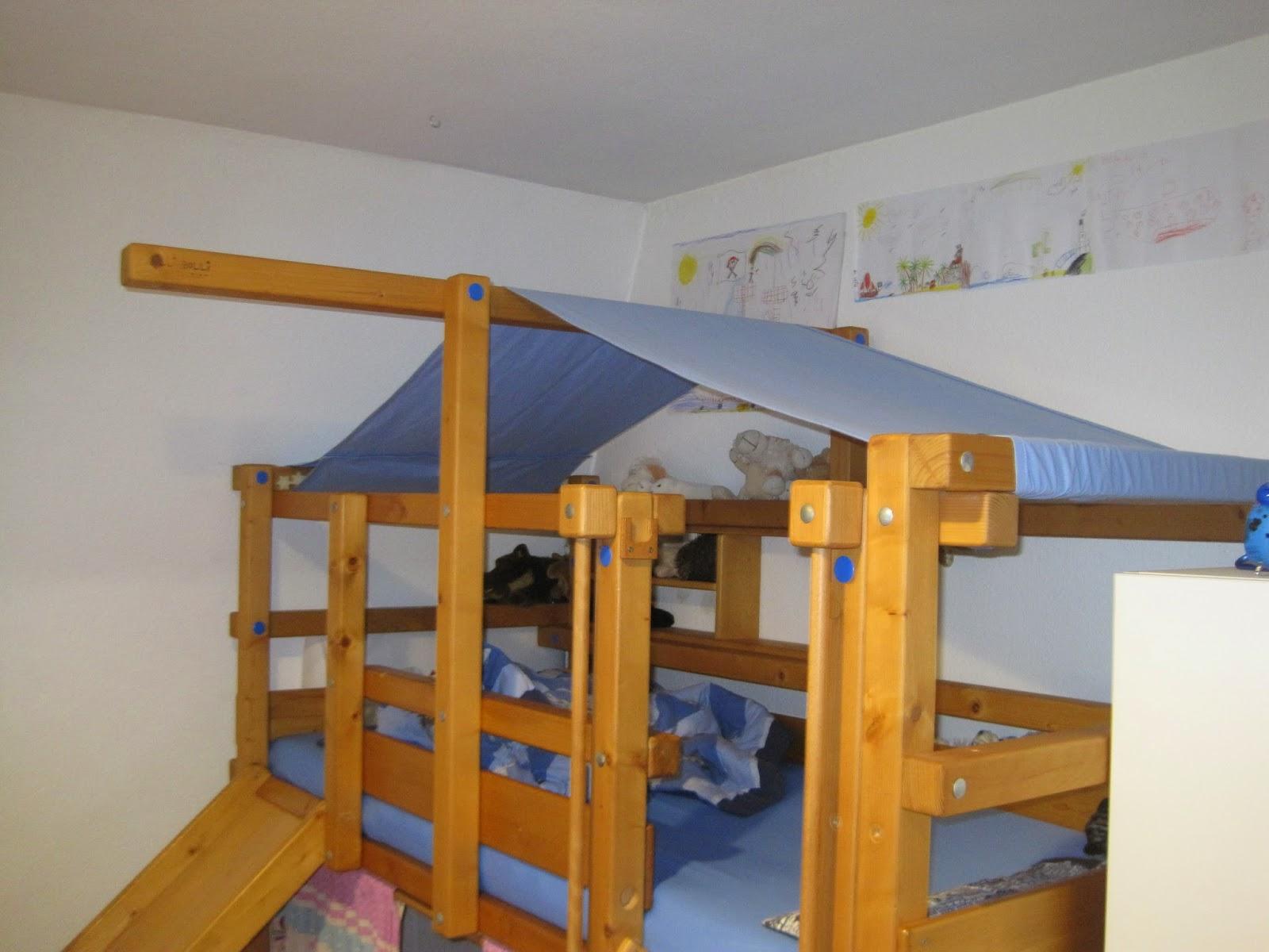 fadenland dach f rs billi bolli hochbett. Black Bedroom Furniture Sets. Home Design Ideas