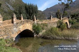 Puentes coloniales de Huancaya