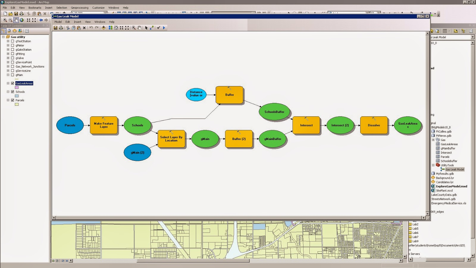 how to create a working set in arcmap