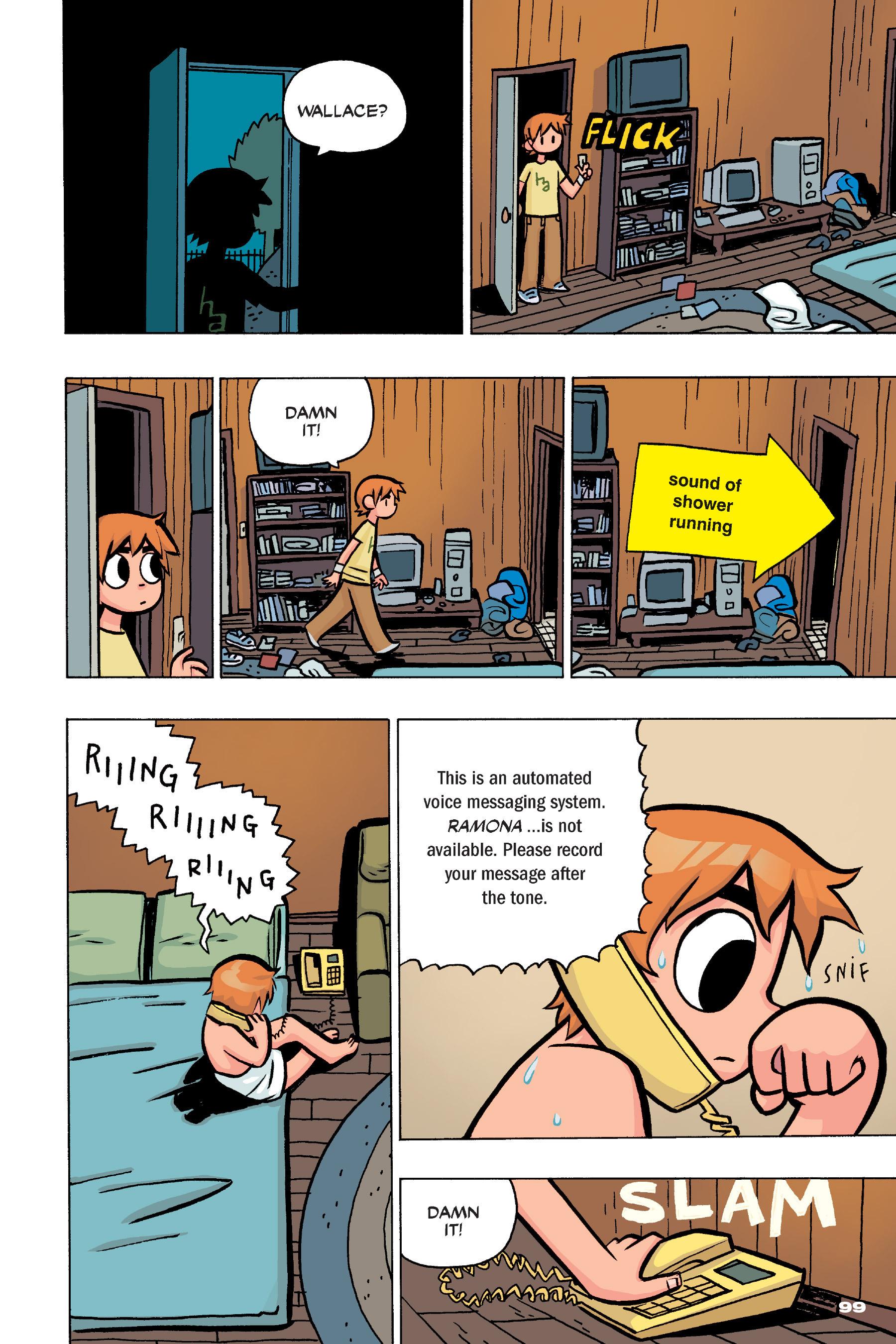 Read online Scott Pilgrim comic -  Issue #4 - 97