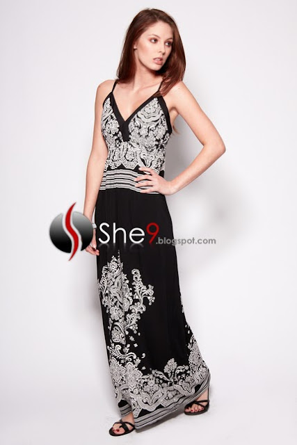 Latest maxi gown dresses western modern dress collection fashion in