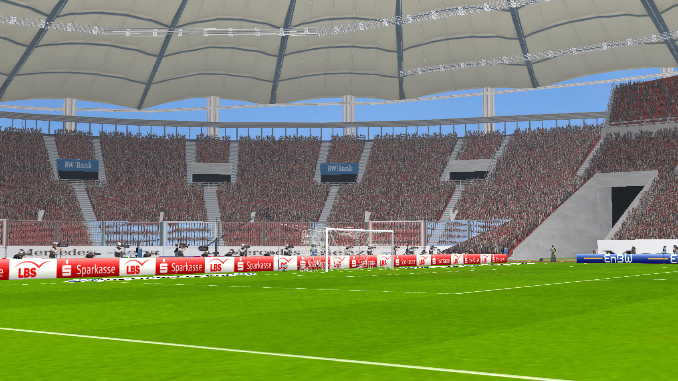PES 6 Stadium Gottlieb Daimler HD Stuttgart FC By Unknown