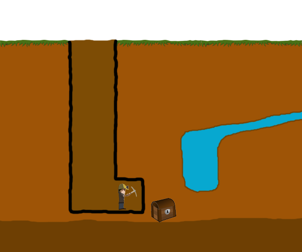 Proper way to dig water trap