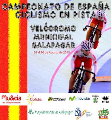 Campeonatos de España. Galapagar  25 al 30 de agosto 2015