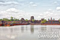 Angkor Wat Temple, Angkor, Siem Reap, Cambodia, Largest religious monument in the world, Buddhist, Hindu