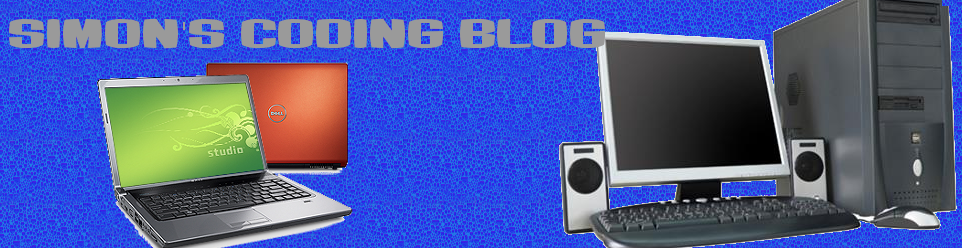 Simon's Coding blog