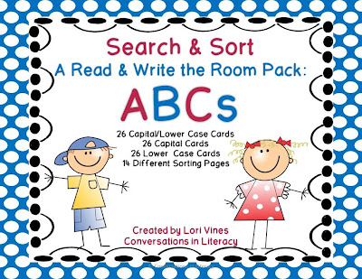 search and sort read the room activity