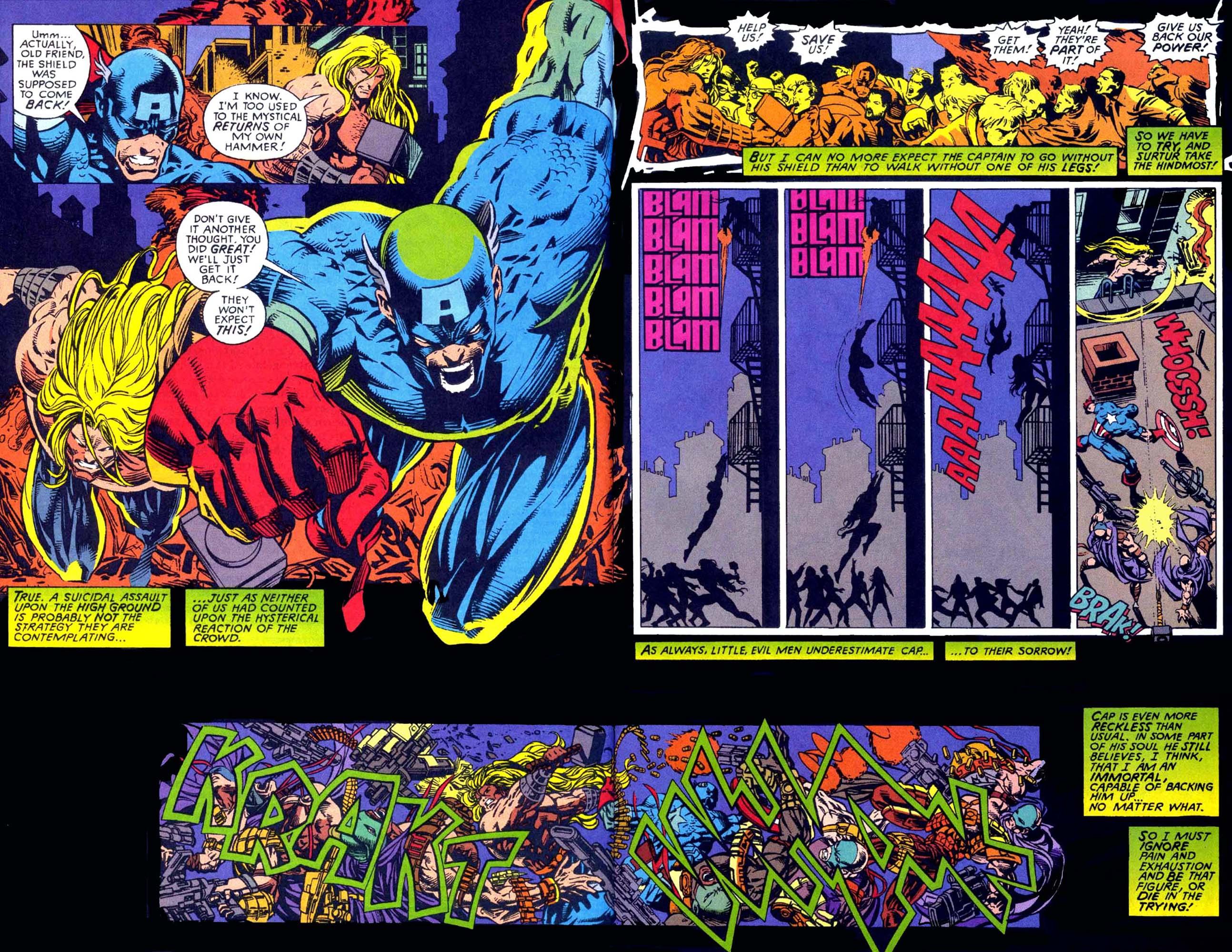 Captain America (1968) Issue #449b #404 - English 9