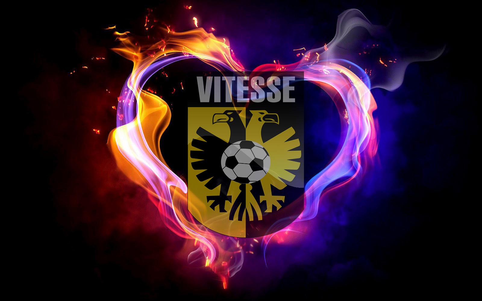 Vitesse Wallpaper Met Vuur Mooie Leuke Achtergronden