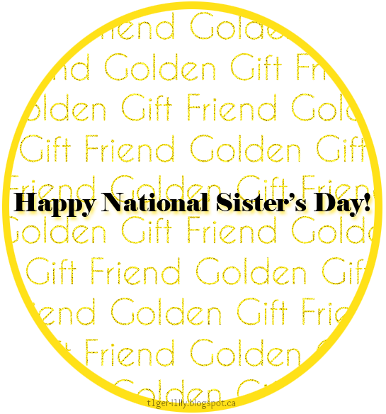 Happy National Sister's Day