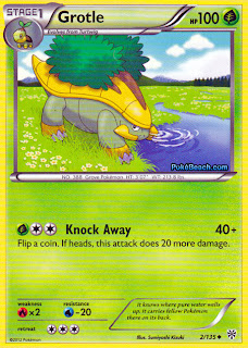 Grotle Plasma Storm Pokemon Card