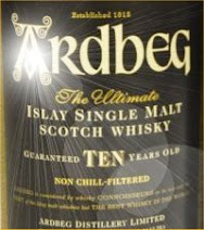 Whisky arvostelu - Ardbeg - Blogi suosittelee