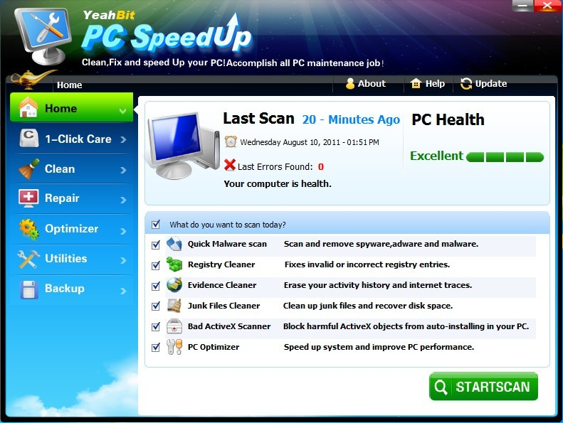 PC Optimizer Pro 2015 License Key with Crack Full Download