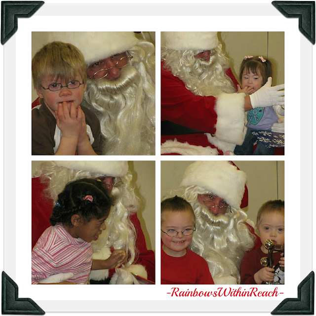 photo of: Children with Special Needs Meet Santa
