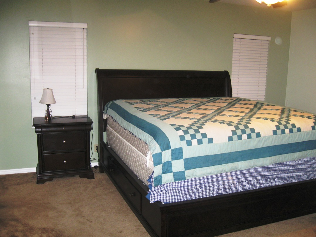 What Color Comforter Goes with Sage Wall