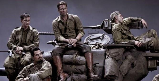 New Trailer for Brad Pitt's new movie Fury