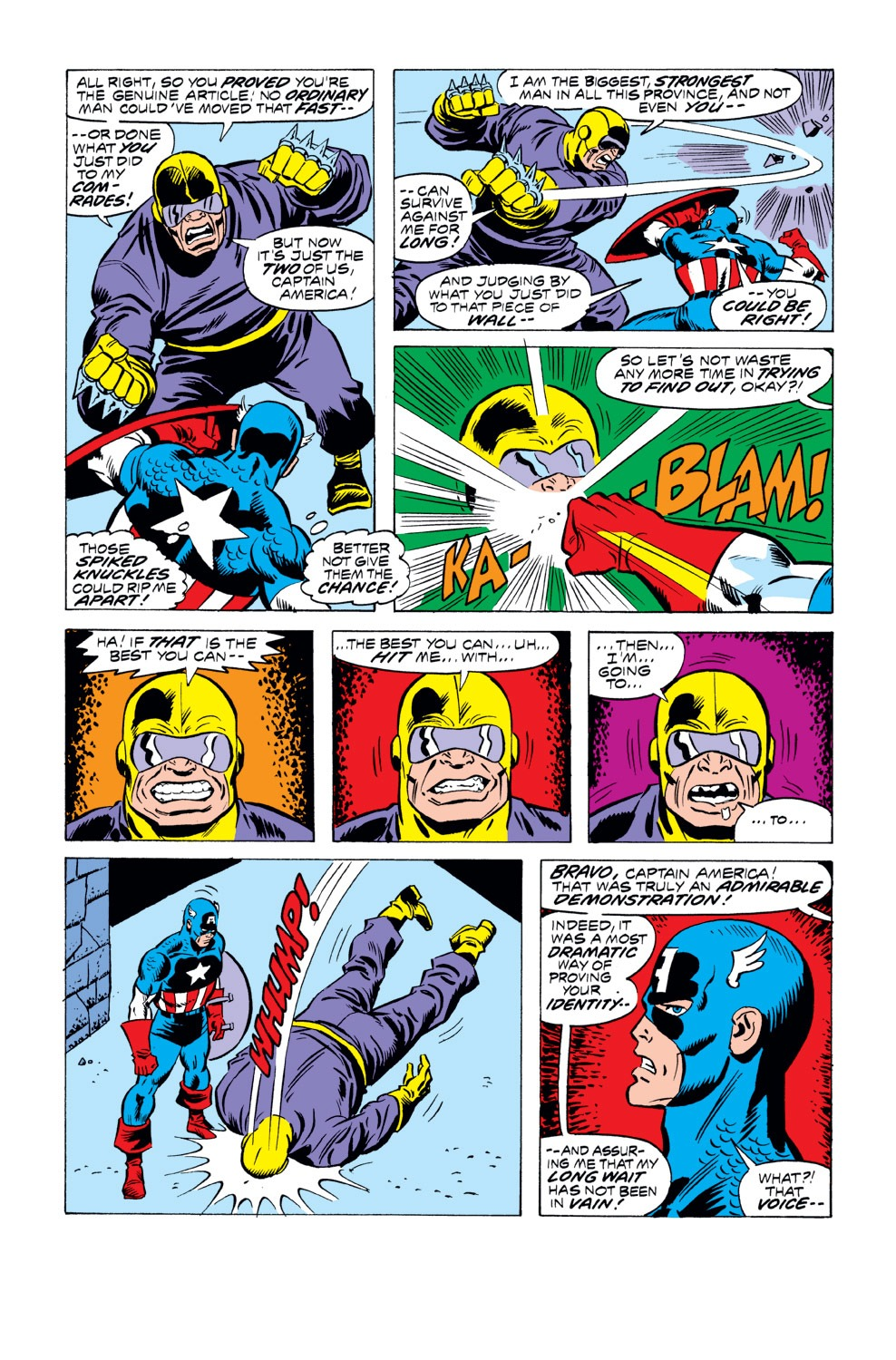 Captain America (1968) Issue #218 #132 - English 16