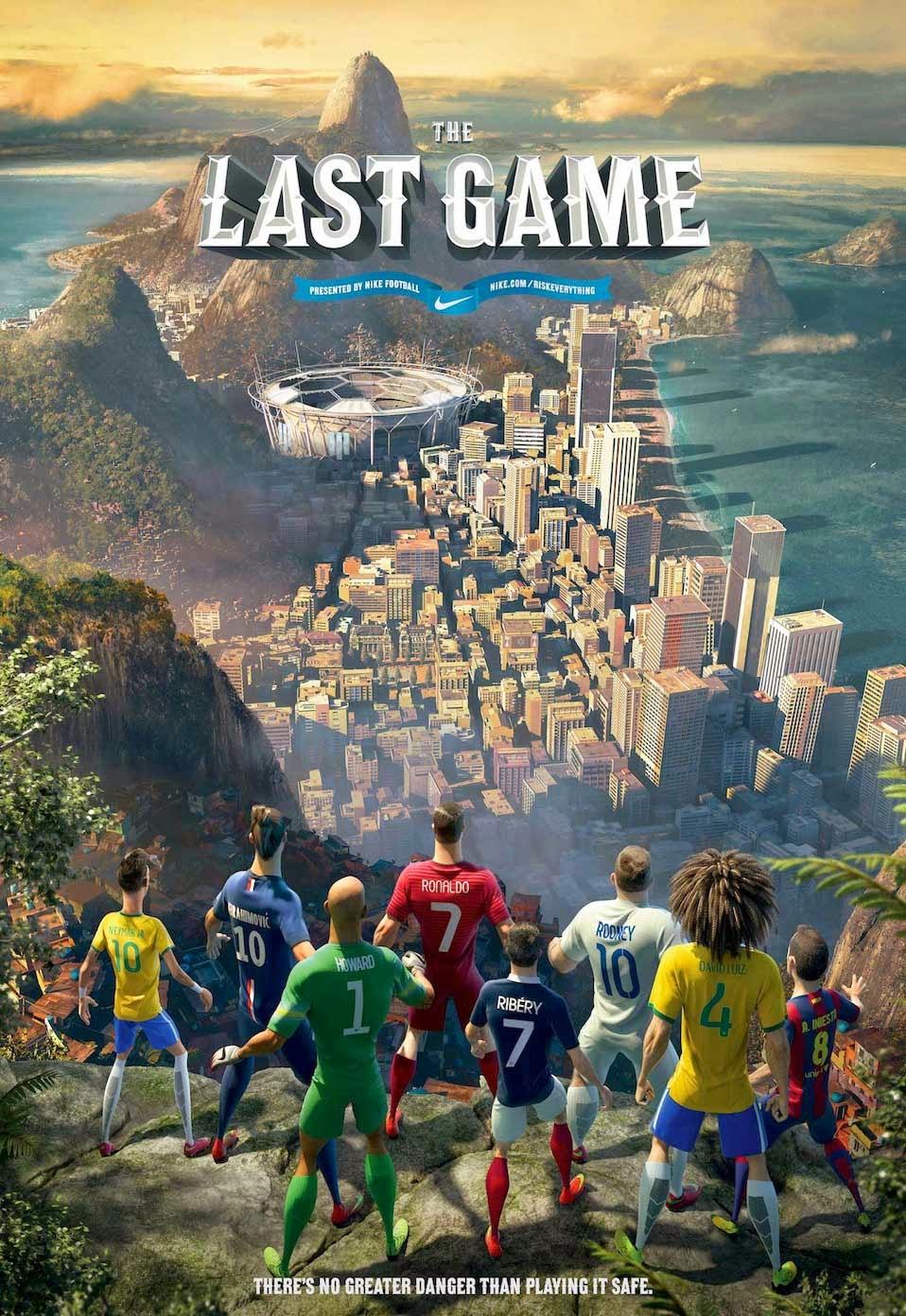 Nike Futebol O Último Jogo Dublado