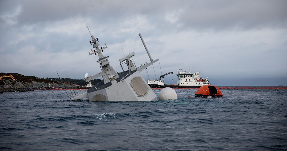 Watch The sinking of the KNM Helge Ingstad looks like it could be a huge loss for the Norwegian navy, as it is one of only five elite frigates. Its very hard for a navy to lose a vessel, Admiral Nils Andreas Stensones, head of the Norwegian navy said Tuesday video