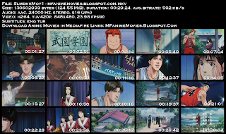 Mediafire Slam Dunk OVA Movie 1 Screenshot