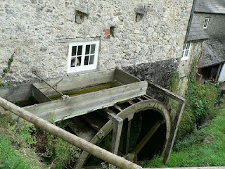 Branscombe Manor Mill water wheel