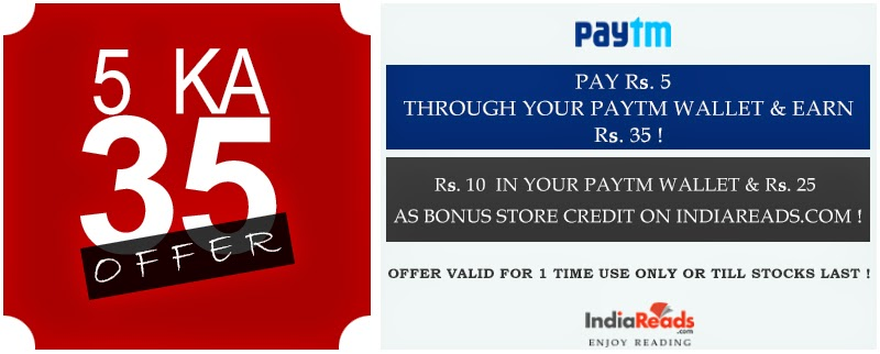 Paytm is live again with another cash back offer Paytm+India Reads 5 Ka 35 Offer
