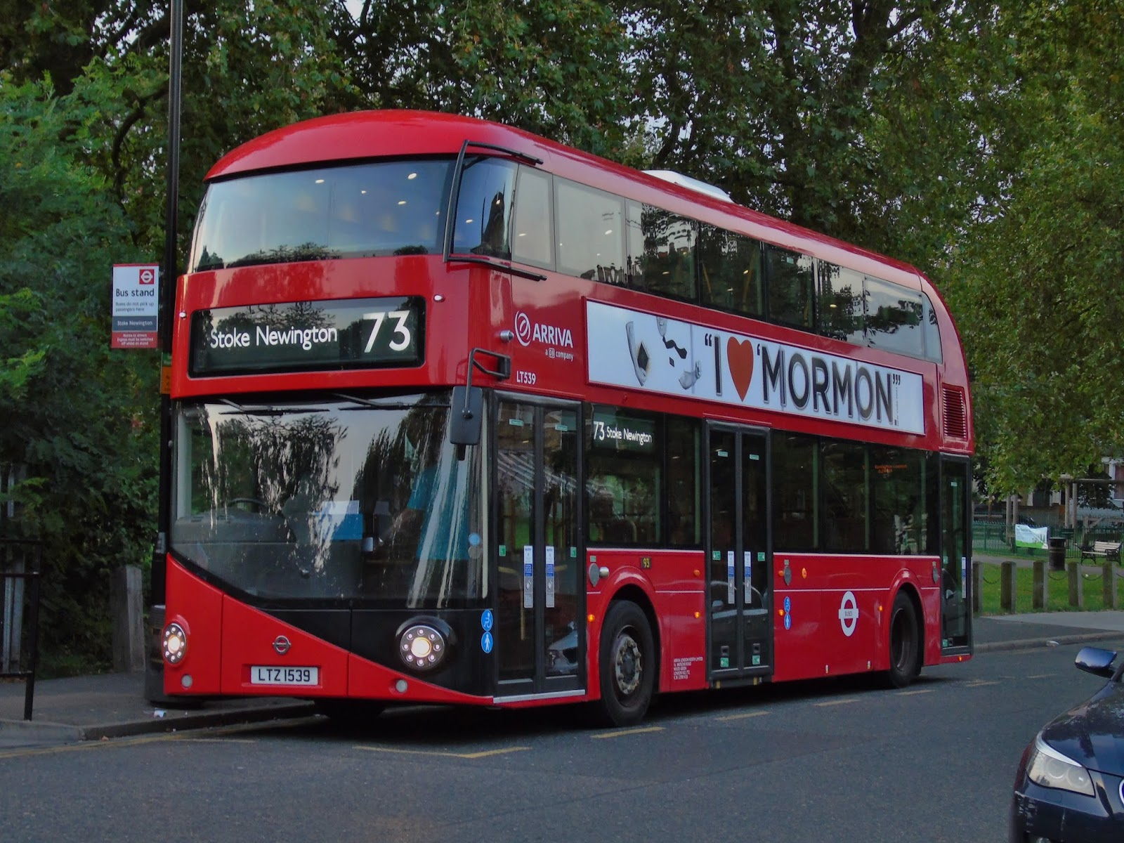 london connected: the newington routemaster