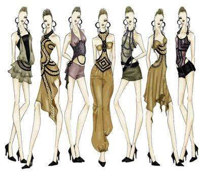diseno moda consiste:
