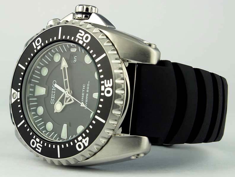 blog de montres revue de la montre seiko kinetic diver. Black Bedroom Furniture Sets. Home Design Ideas