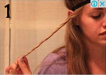 Tutorial Membuat dan Menata Rambut Ikal 1