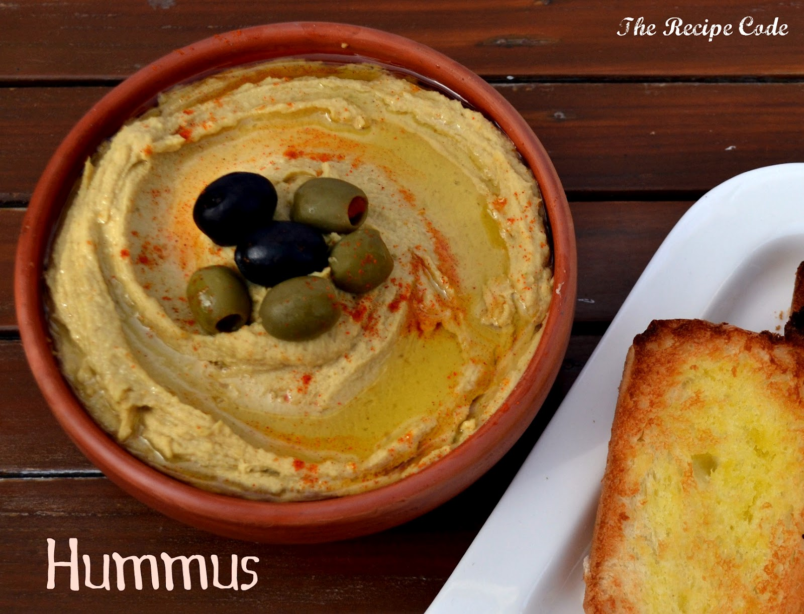 The Recipe Code: Hummus