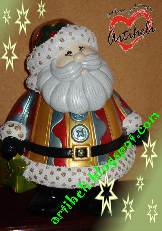 Artiheli decoraci n ceramica navide a para esos - Ceramica decoracion ...