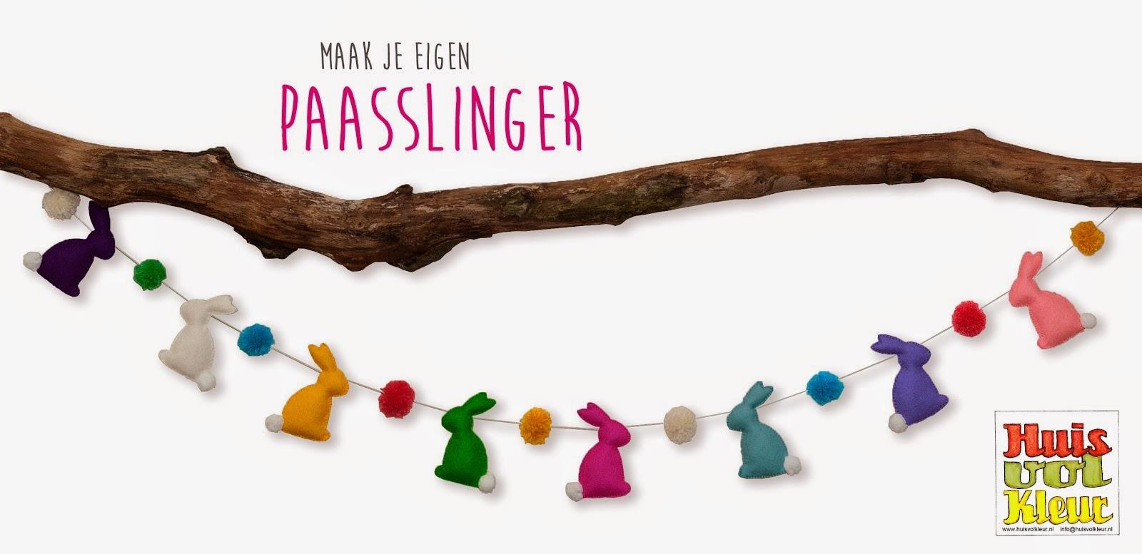 Gratis patroon Paasslinger