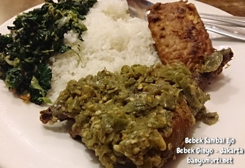 Kuliner Jakarta - Bebek Ginyo