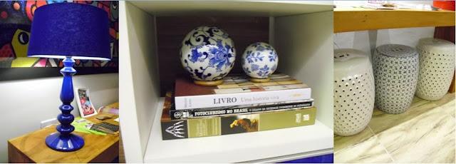 objetos decorativos - sala de leitura do Senac - Santos Arquidecor 2013
