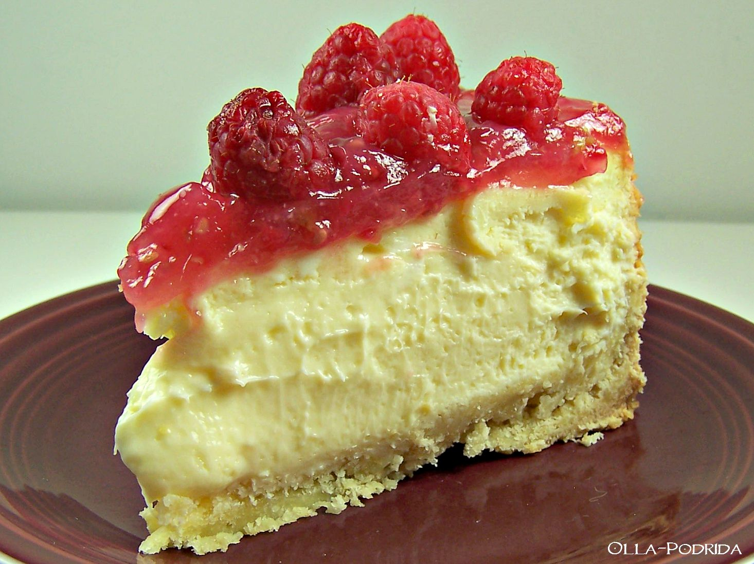 Olla-Podrida: The Battle of the Cheesecakes: Lemon ...