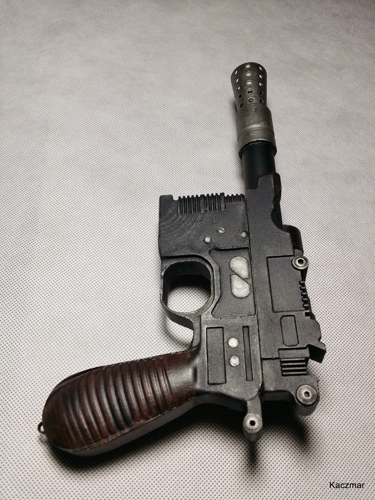 Star Wars Han Solo Blaster Empire Strikes Back 3d printing