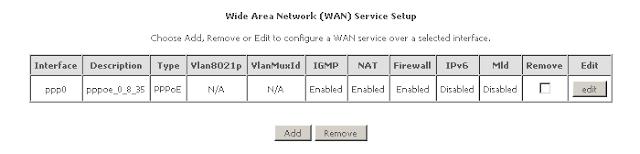 Netcomm Wireless Screen N300 WAN