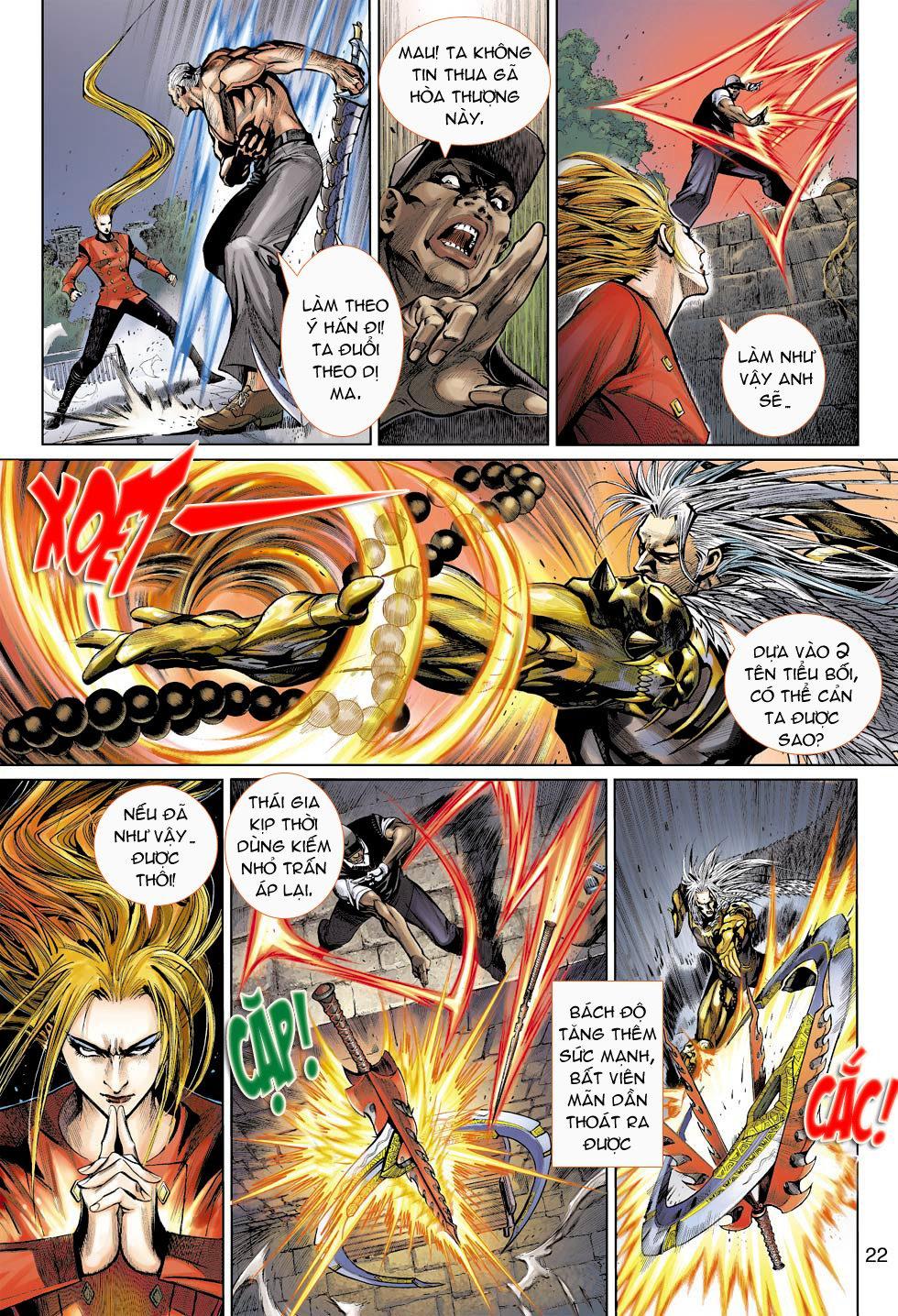 Thần Binh 4 chap 16 - Trang 22