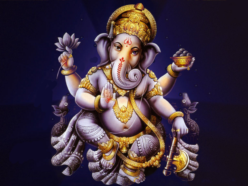 lord ganesha wallpaper computer background - photo #39