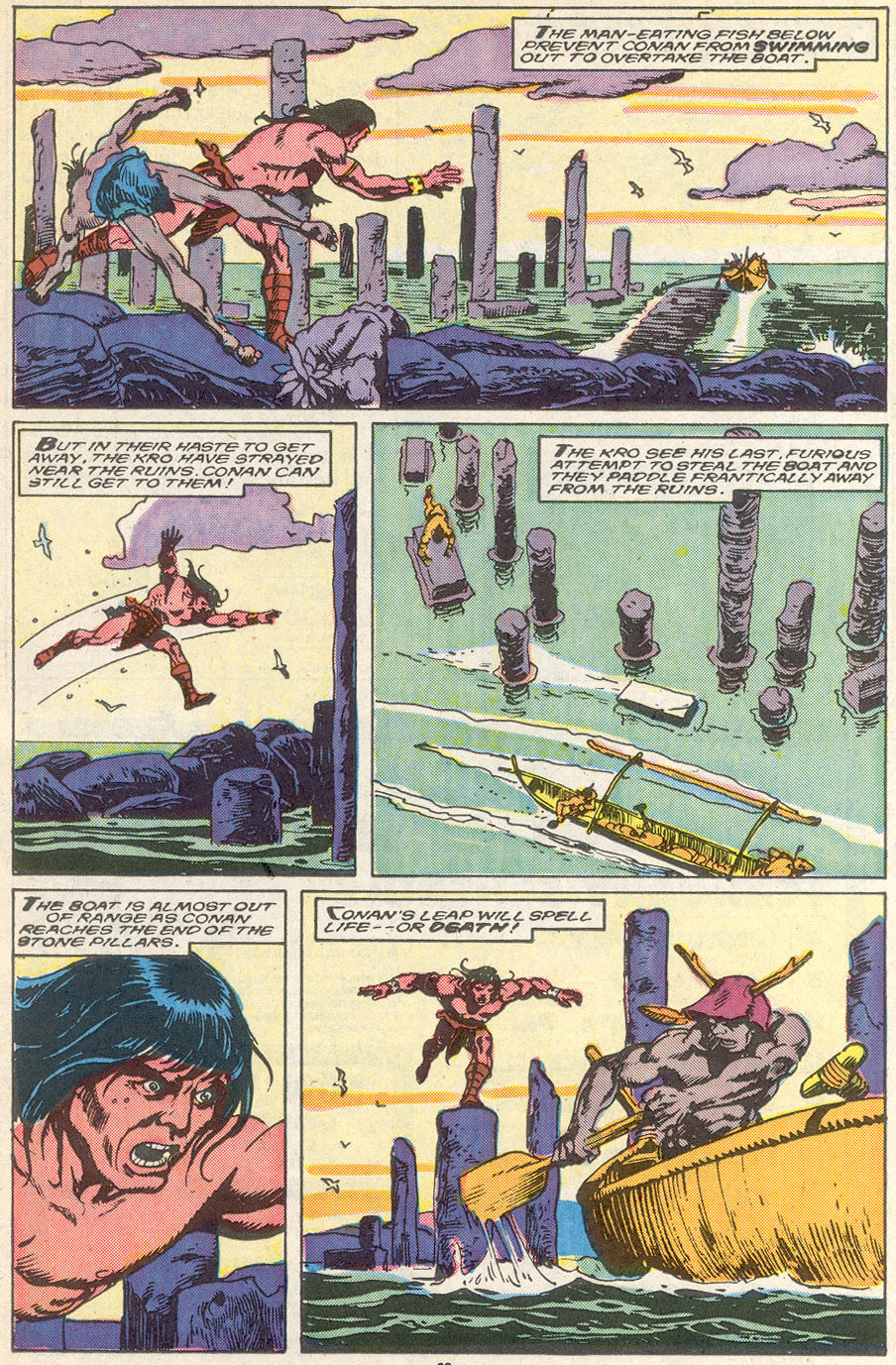 Conan the Barbarian (1970) Issue #218 #230 - English 18