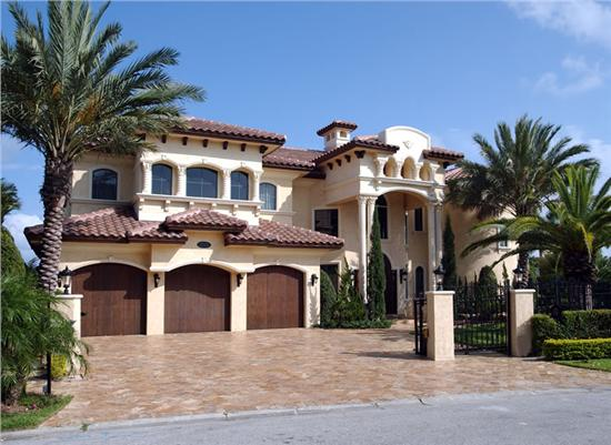 Spanish Style Home Magnificent With Spanish Mediterranean House Plans Photos