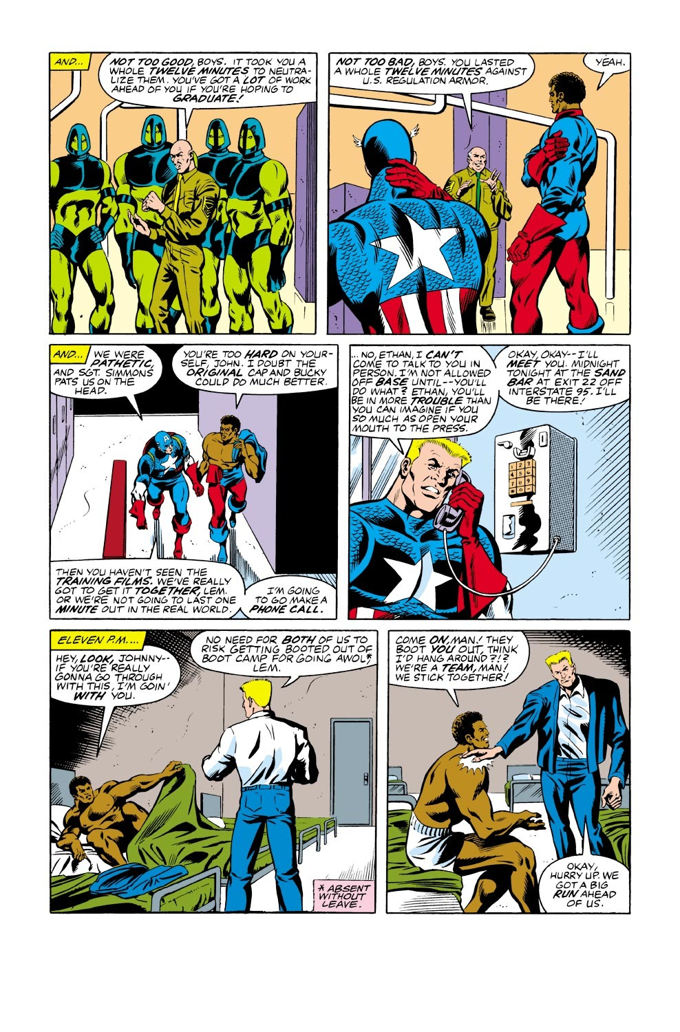 Captain America (1968) Issue #334 #263 - English 13