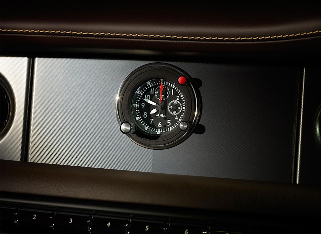 Rolls-Royce presented Phantom Coupé Aviator clock