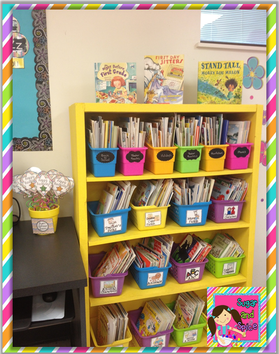 Classroom Bookcase Ideas ~ My  first grade classroom reveal miss decarbo
