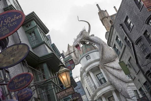 Callejón Diagon Harry Potter