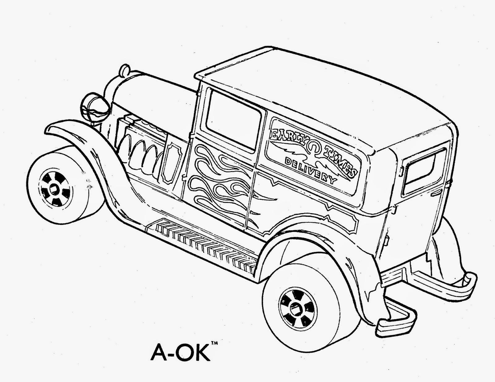 carros para colorir online